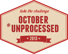 Taking the Unprocessed Eating Challenge