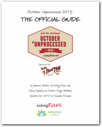 "Eating Unprocessed: The ""Rules to Eat By"""