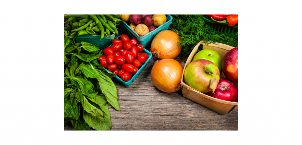 Fruits and Vegetables - low glycemic load
